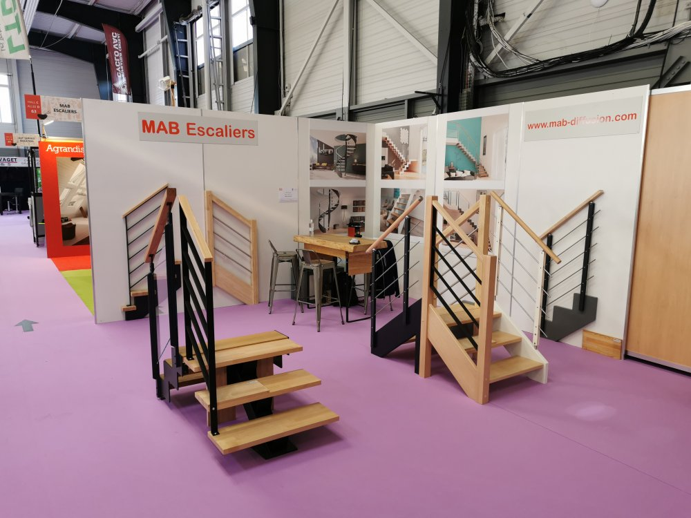 STAND MAB ESCALIERS